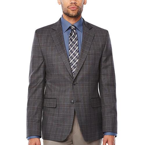 Stafford Classic Fit Woven Pattern Sport Coat