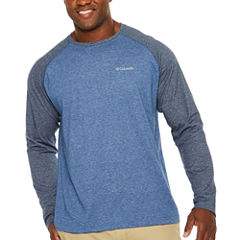 Columbia Long Sleeve Crew Neck T-Shirt-Big