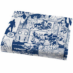 Avengers Twin Microfiber Easy Care Sheet Set