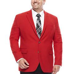 Stafford® Hopsack Classic-Fit Sportcoat - Big & Tall