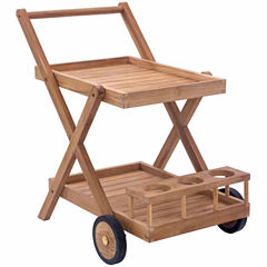 Zuo Modern Regatta Patio Serving Cart