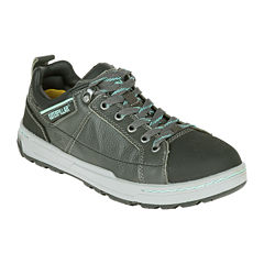 CAT® Brode Womens Lace-Up Work Shoes - Wide