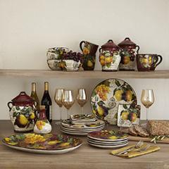 Certified International Botanical Fruit Dinnerware Collection