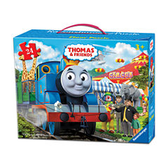 Ravensburger Thomas & Friends - Circus Fun Floor Puzzle in a Suitcase Box: 24 Pcs
