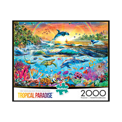 Buffalo Games Tropical Paradise: 2000 Pcs