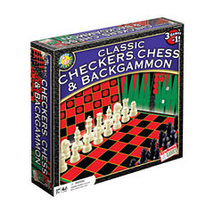 Endless Games Classic Checkers Chess & Backgammon