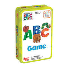 University Games Eric Carle's ABC Game in a Tin