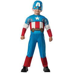Avengers Assemble Captain America Toddler Costume2-4T