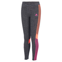 adidas Knit Leggings - Preschool Girls