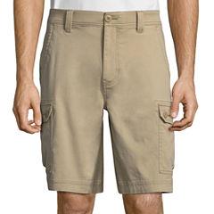 St. John's Bay Twill Cargo Shorts