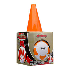 POOF Pro Gold Soccer Ball & Cone Set