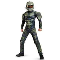 Buyseasons Halo: Master Chief Muscle Costume For Kids