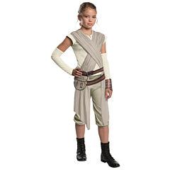 Star Wars:  The Force Awakens - Girls Deluxe Rey Costume