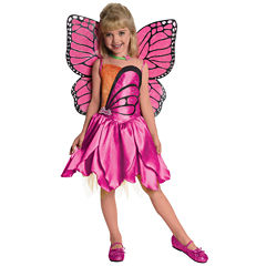 Buyseasons Barbie-Deluxe Mariposa Toddler / Child Costume
