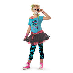 Buyseasons 80's Valley Girl Child Costume