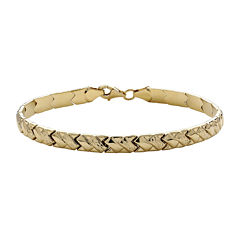 Infinite Gold™ 14K Yellow Gold Stampato X Bracelet