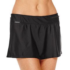 Zero Xposur® Knit Action Skirtini Swim Bottom
