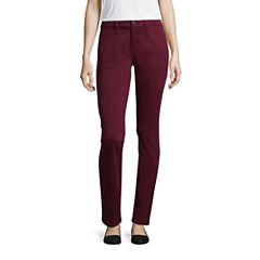Liz Claiborne Slim Pants-Talls