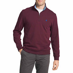 IZOD Advantage Performance Solid Quarter-Zip Fleece