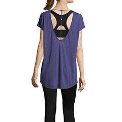 Xersion Studio Dolman T-Back Tee