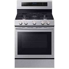 Samsung 5.8 cu. ft. True Convection Gas Range with Illuminated Knobs