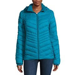 Xersion Heavyweight Packable Puffer Jacket-Tall