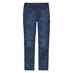 Arizona Flat Front Pants-Big Kid Boys