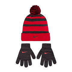 Nike Hat & Glove Set - Boys 8-20