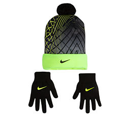Nike Boys Beanie and Glove Set