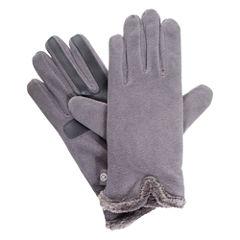 Isotoner Women's smartDRI® Stretch Fleece Gloves with smarTouch® Technology