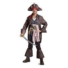 Buyseasons Pirates Of The Caribbean 5 7-pc. Dress Up Costume Mens