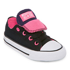 Converse Chuck Taylor All Star Double  Tongue Ox Girls Sneakers - Toddler