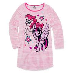 Hasbro Long Sleeve My Little Pony Nightgown-Preschool Girls