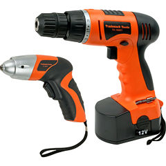 Stalwart™ 74-pc. Combo Cordless Drill and Driver Set