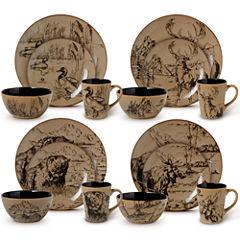 Pfaltzgraff® Mossy Oak 16-pc. Dinnerware Set