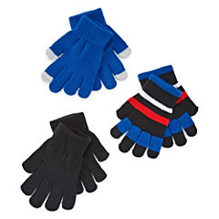 City Streets Boys Cold Weather Gloves-Big Kid