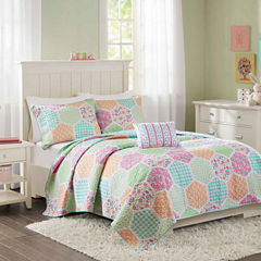 Mi Zone Thara Quilt Set