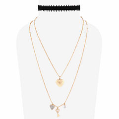 Decree Womens 2-pc. Necklace Set