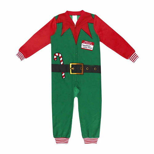 North Pole Trading Co. Elf One Piece Pajama- Toddler