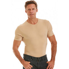 Insta Slim Men's Compression Crew Neck Shirt