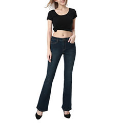 phistic Women's Courtney Zip Front Modern Bootcut Jeans