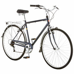 Schwinn Wayfarer 700c Mens Hybrid Retro City Bike