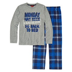 Arizona Husky 2 pc Monday's Pajama Set - Boys