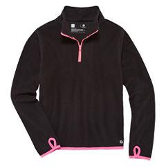 Xersion Half Zip Tech Fleece Pullover - Girls' 7-16 and Plus
