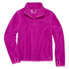 Xersion Quarter-Zip Pullover - Big Kid Girls Plus