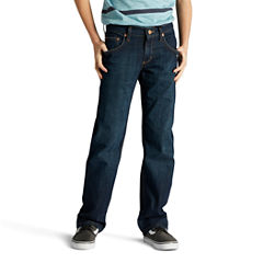 Lee Lee Straight Fit Straight Leg Straight Fit Jean Big Kid Boys Husky