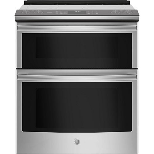 GE Profile™ Series 30 Slide-In Electric Double Oven Convection Range