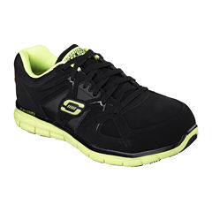 Skechers® Flex Gripper Electrical Safety Mens Safety-Toe Work Shoes