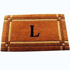 Imperial Monogram Doormat