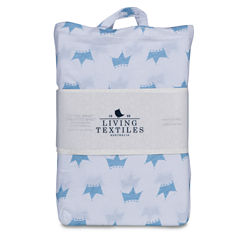 Living Textiles Little Crowns Crib Sheet